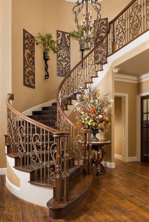home decor wall beautiful tuscan staircase wesley wayne interiors ᘡղbᘠ