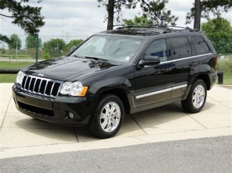 2008 Jeep Grand Specs 2008 Jeep Grand Limited Data Info And Specs