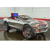"""Up On EBay Is A Chromed Out """"King Camaro"""" Feautring Big Wheels"""