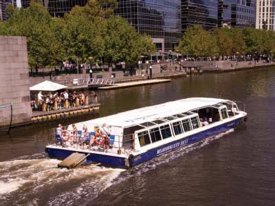 boat launch yarra river melbourne city tour with river cruise and lunch gray line