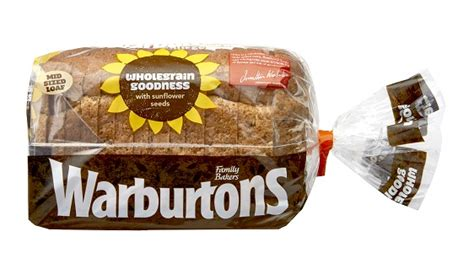 600g carbohydrates wholegrain goodness bread seeded bread warburtons