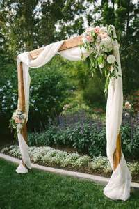 diy backyard wedding ideas 25 best ideas about simple wedding arch on