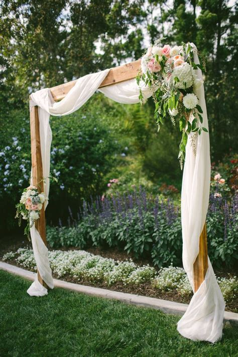 backyard wedding diy 25 best ideas about simple wedding arch on pinterest