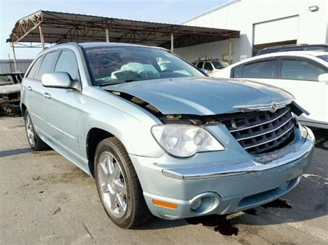 2008 Chrysler Pacifica For Sale by 2008 Chrysler Pacifica L For Sale At Copart Orlando Fl