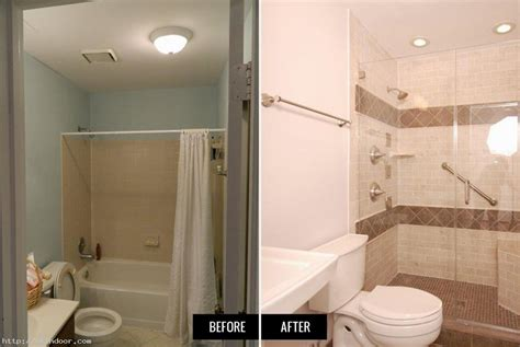 bathroom remodel pics before after small bathroom remodels before and after best images
