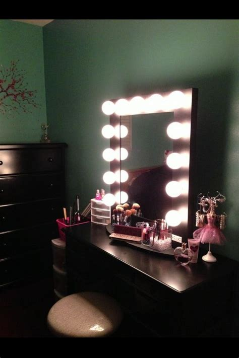 Bathroom Mirror Ideas Pinterest makeup stand future pinterest