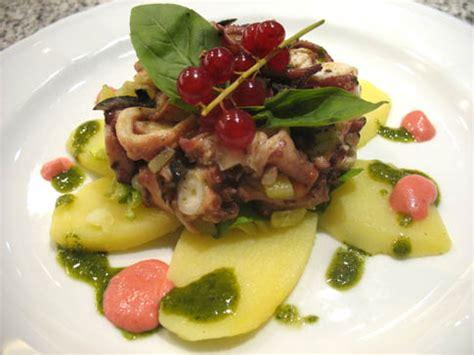 insalata di piovra e sedano ricetta insalata di piovra con olive patate e basilico