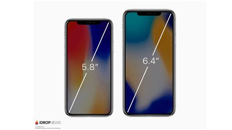 renders imagine rumored iphone x plus with 6 4 inch display gallery 9to5mac