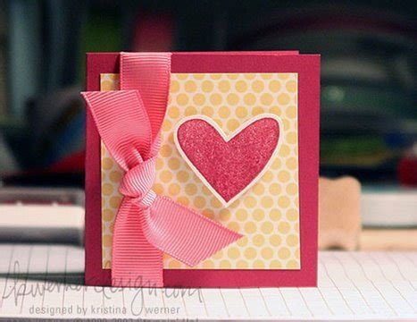 easy cards to make easy valentines card make a card monday 7