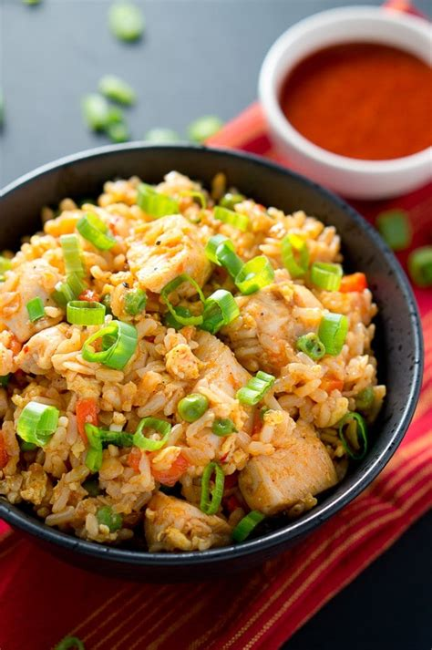 spicy chicken fried rice delicious meets healthy