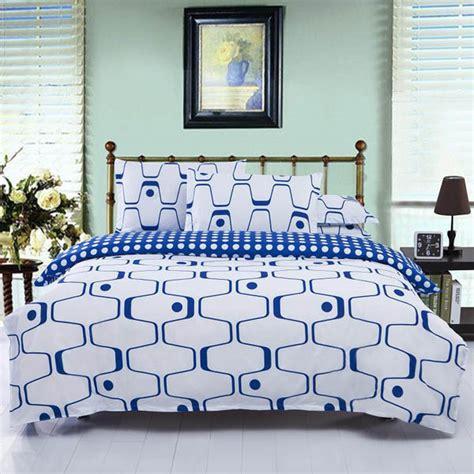 bettdecke vor gebrauch waschen 3 oder 4pcs polyester faser blaues wei 223 es labyrinth
