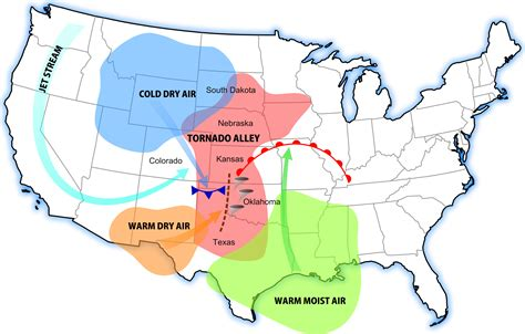 map of the united states tornado alley uc santa barbara geography news events department news