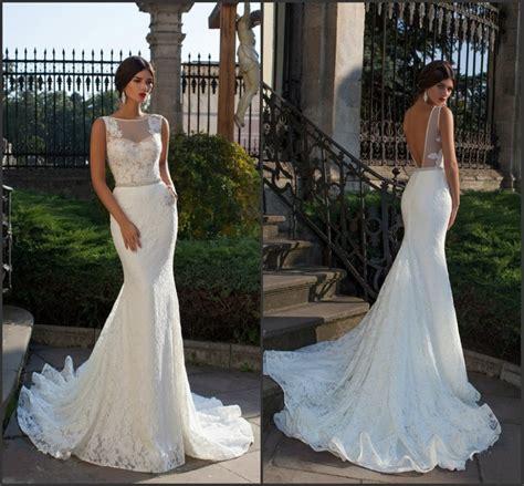 bride fish tail wedding dress elegant lace mermaid wedding