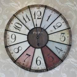 Large Wall Clocks Large Coloured Wall Clock Melody Maison 174