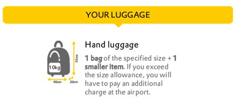 vueling cabin baggage air travel can you take a luggage and a small bag
