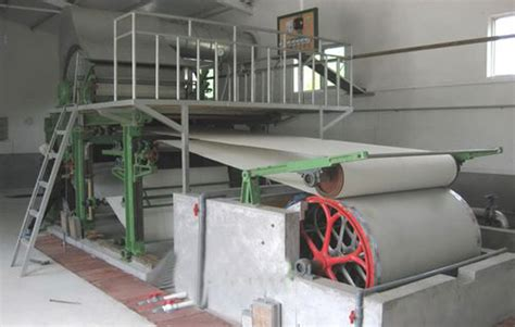 small scale capacity tissue toilet paper machine toilet