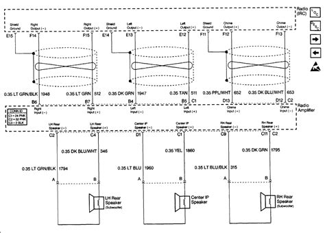 cadillac dts speaker diagram cadillac free engine image for user manual