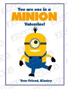 minion valentines day card minion cards with envelopes set of 12
