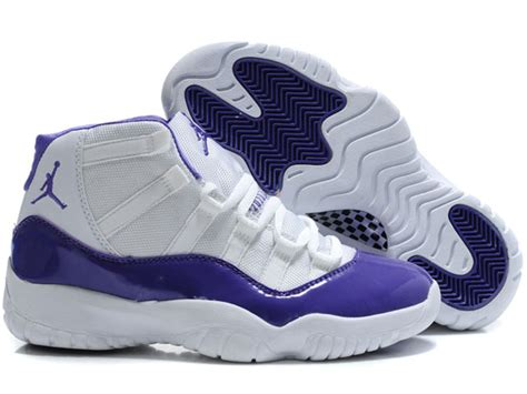 purple jordans shoes air retro 11 xi shoes white purple