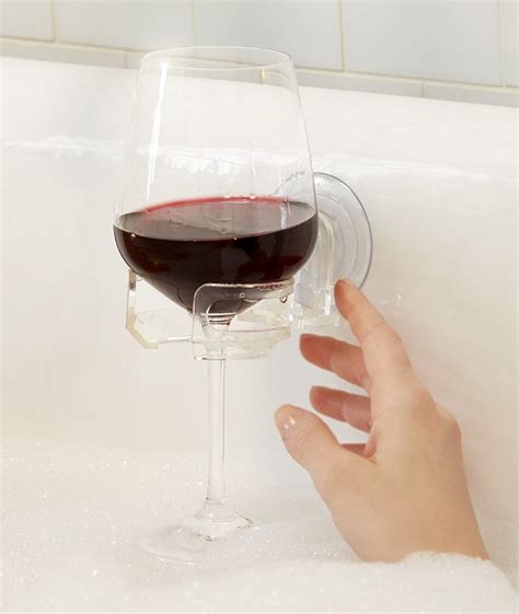 wine holder for bathtub a wine lover s holiday gift guide and then some