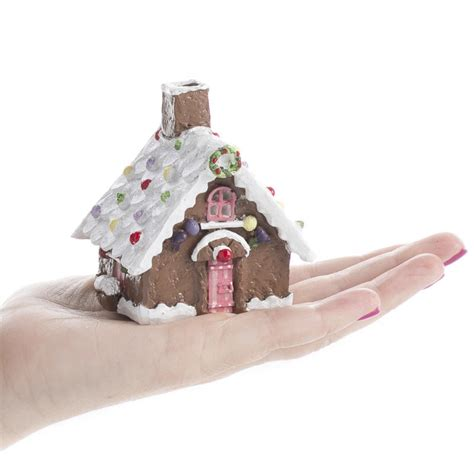 wonderful White And Brown House #3: miniature_gingerbread_house_3.jpg