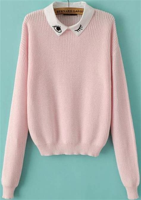 Forum Office Chairs Sweater Collared Pink Sweater Collared Sweater Eyes