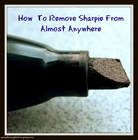 25 best ideas about sharpie removal on
