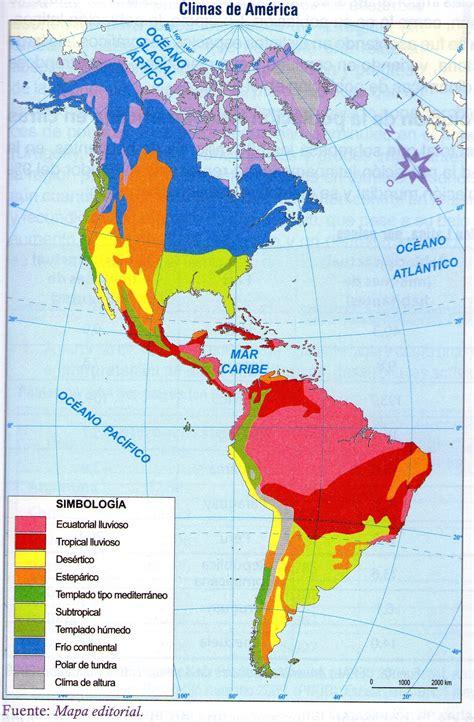 america mapa de climas la nave viajera por am 233 rica la nave viajera