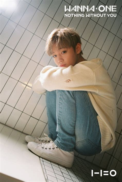 K Pop Wanna One Nothing Without You wanna one s park ji hoon and ong seong wu take a more serious image for nothing without you