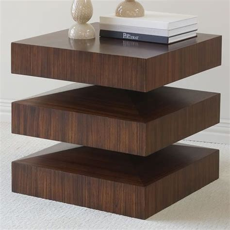 Modern Accent Table Global Views In Out End Table Modern Side Tables And End Tables By Bobby Berk Home