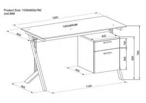 build wooden standard computer desk dimensions plans