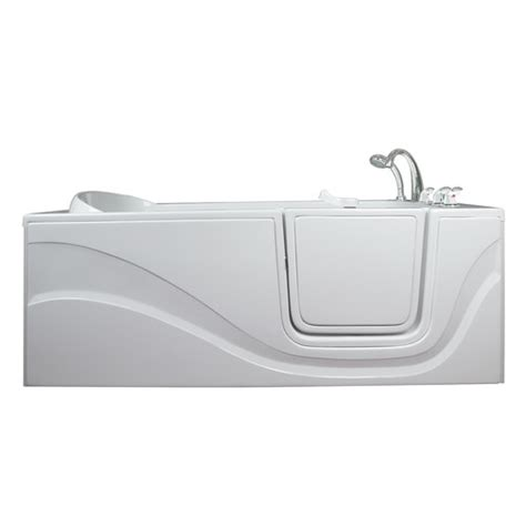 long bathtub lay down 60 quot x 30 quot long hydrotherapy massage walk in