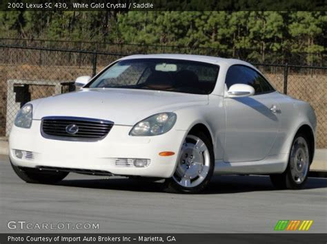 lexus sc430 gold white gold 2002 lexus sc 430 saddle interior