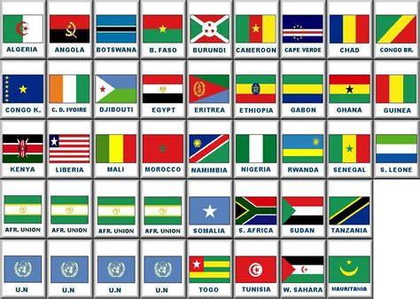 african countries flags africa s map flags srkblogging org