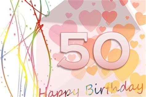 free 50th birthday card template happy 50th birthday card