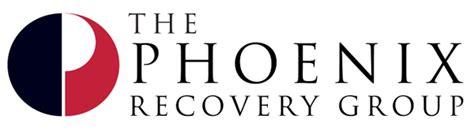 phoenix design group the phoenix recovery group logo web design on behance