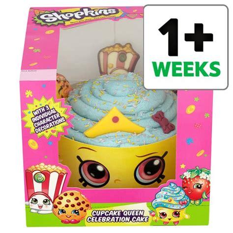 Paw Patrol Birthday Decorations Shopkins Cupcake Celebration Cake Groceries Tesco