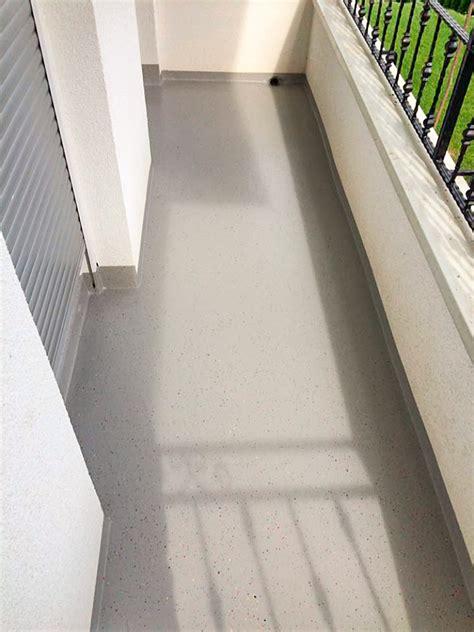 balkon boden balkon boden bergo xl bodenbelag in steingrau und