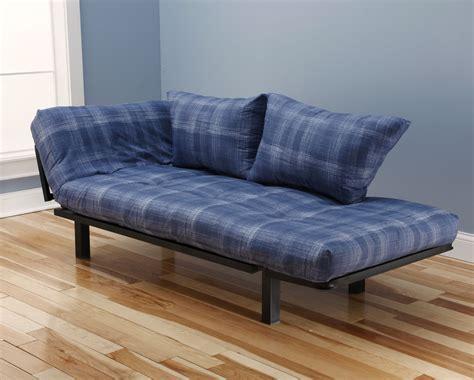 mattress futon spacely futon daybed lounger with mattress dungaree by kodiak