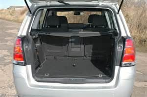 Vauxhall Zafira Boot Capacity Vauxhall Zafira Review Part Four 2006