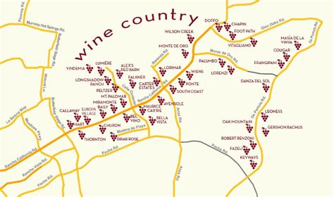 map of temecula temecula winery map and directions temecula ca