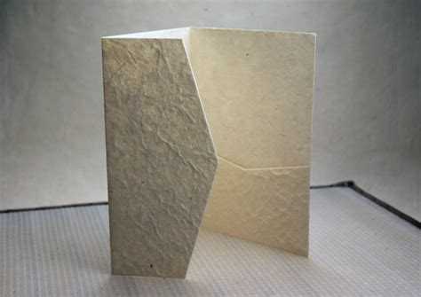 Handmade Paper Folders - pocket folds are finally here diy invitation pocket