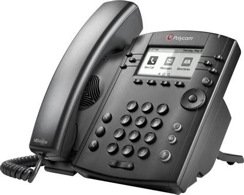 Voice Desk Phone by Polycom Vvx 300 6 Line Desktop Phone With Hd Voice Voip