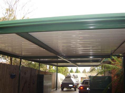 carport dach flat roof metal carport plans
