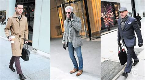 pendulum swing in fashion memo from bill cunningham casual fridays for men are over