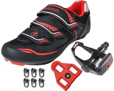 road bike boots gavin road bike cycling shoes w pedals cleats