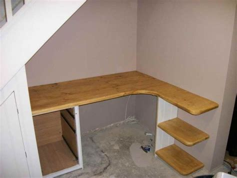 built in corner desk 1000 ideas about desk stairs on