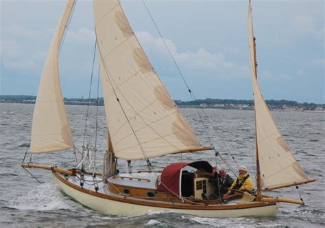 Yawl Pictures 1997 classic sea otter gaff yawl sail boat for sale www