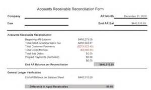 Accounts Payable Reconciliation Template by Accounts Receivable Forms What Are