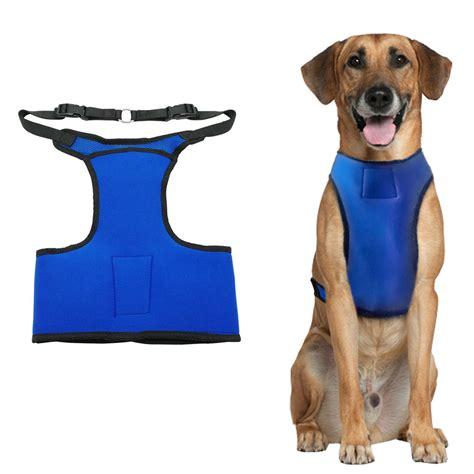 cooling vest for dogs cooling pet harness summer cool vest adjustable for medium large dogs boxer ebay